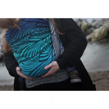 Ring Sling Yaro Dandy Aqua Grad Black Wool Blend (Disponibile dal 19 Giugno)