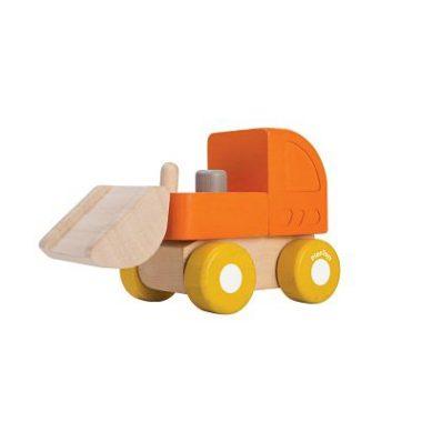 Mini bulldozer ruspa plantoys