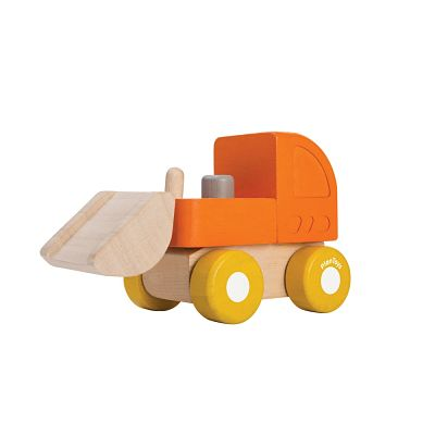 Mini bulldozer ruspa plantoys