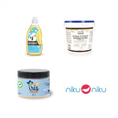 Kit bucato ecologico niku niku