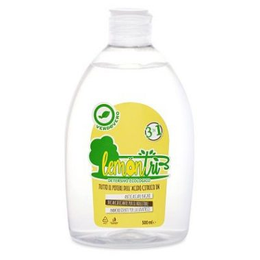 Lemontrì detergente 3 in 1 verdevero anticalcare