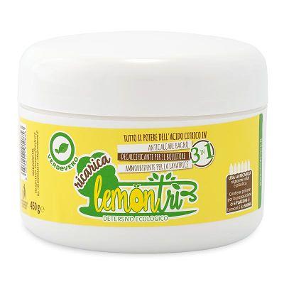 Lemontrì detergente 3in1 ricarica verdevero