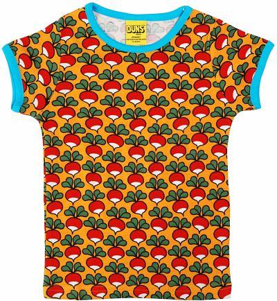 T-shirt Duns Radish mustard yellow
