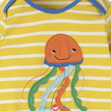 Tutina frugi sun yellow breton jellyfish particolare