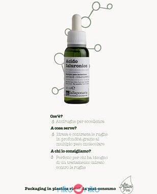 acido ialuronico la saponaria consigli