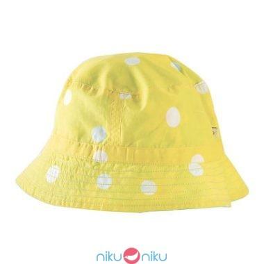 Cappello Hayley Frugi reversibile lato giallo
