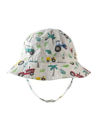 Cappello reversibile Frugi Tropical Tresco