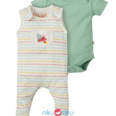 Little Summer Gift Set Frugi Sea Snail due pezzi