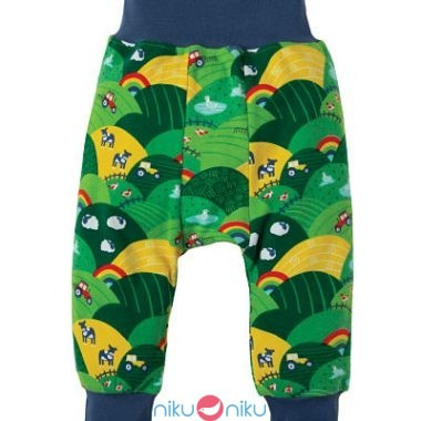 Pantaloni parsnip pants frugi rainbow fields
