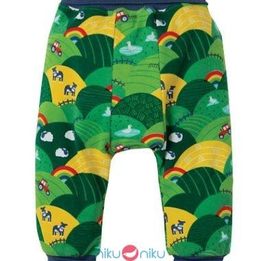 Pantaloni parsnip pants frugi rainbow fields retro