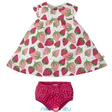 Vestitino Frugi Scilly Strawberries