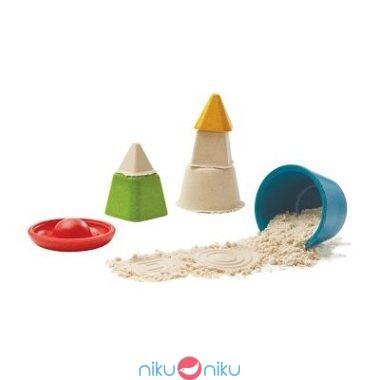 Creative sand play plan toys