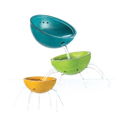 Fountain bowl set plan toys