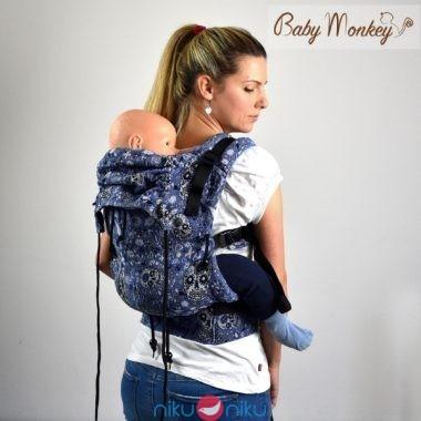 Marsupio ergonomico regolo babymonkey calavera