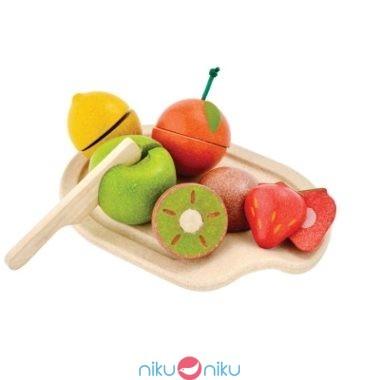 Set frutta assortita plan toys