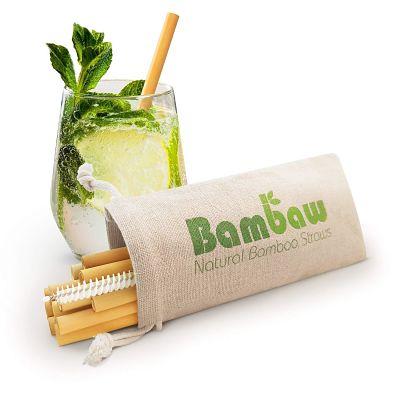 Cannucce in bamboo Bambaw riutilizzabili