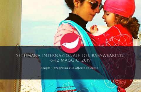 Settimana internazionale del babywearing 6-12 maggio 2019