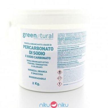 Miscela di percarbonato di sodio green natural 2kg