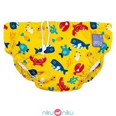 Costumino contenitivo lavabile Bambino Mio profondo giallo