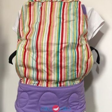 Marsupio ergonomico niku niku toddler gorgeous stripes