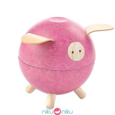 Piggy bank plan toys pink