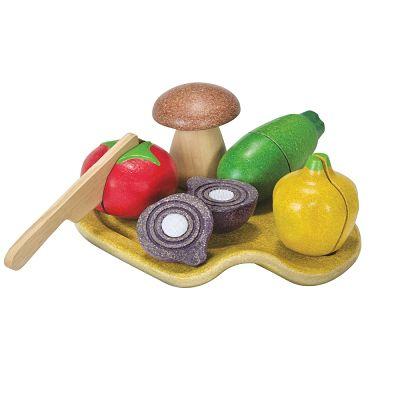 Set verdure da tagliare plan toys