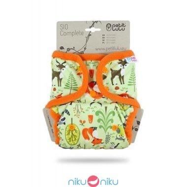 Pannolino lavabile sio complete petit lulu forest animals