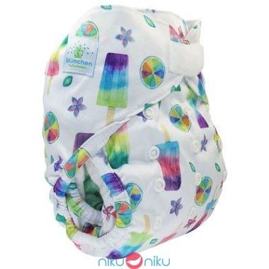 Pannolino lavabile eco cover 2in1 blumchen ice lolly