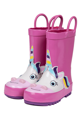 Stivaletti Mr Tiggle Pink unicorn