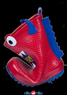 Stivaletti mr tiggle red monster piegati