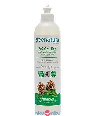 WC gel disincrostante green natural pino menta eucalipto