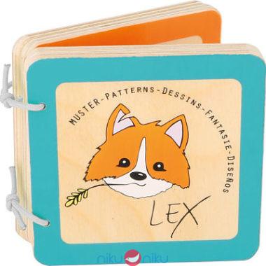 Libro in legno per bambini Lex Fantasie Small Foot