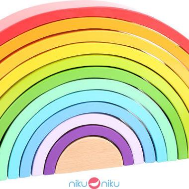 arcobaleno rainbow legno xl small foot