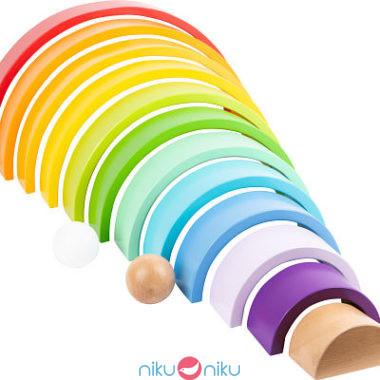 arcobaleno small foot legno colorato xl