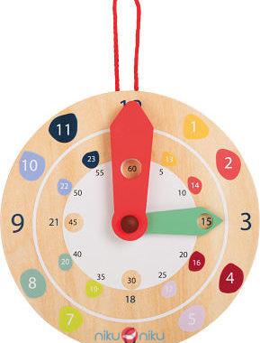 orologio in legno da parete bambini small foot