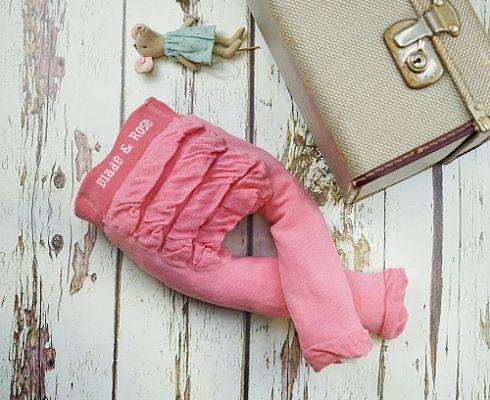 Leggings blade and rose swan in cotone