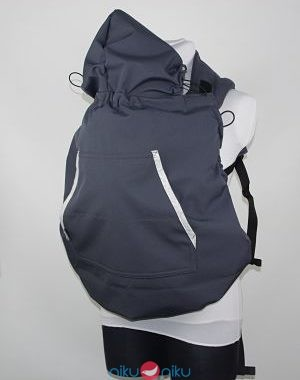 Cover almelle softshell grigio scuro