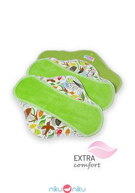 Pack 3 assorbenti lavabili ultra slim petit lulu autumn hedgies