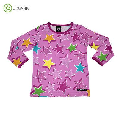 T-shirt maniche lunghe Villervalla Petunia Stars