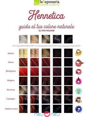 palette colori hennetica la saponaria