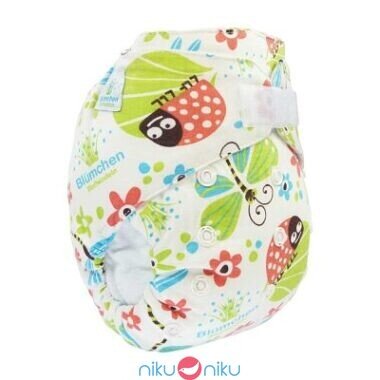 pannolino lavabile fitted blumchen summer meadow
