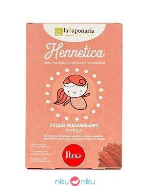 tinta per capelli vegetale hennetica la saponaria melograno durga
